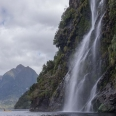 Waterfall in Crooked Arm, Doubtful Sound, New Zealand | photography