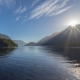 Sunrise over West Arm, Lake Manapouri, New Zealand | photography