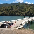 Jetty in Mistletoe Bay, Marlborough Sounds, New Zealand | photography