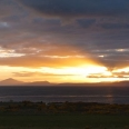 Sunset over Lake Taupo and Mt Tongariro, New Zealand | photography