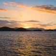 Sunset over Stewart Island, New Zealand | photography